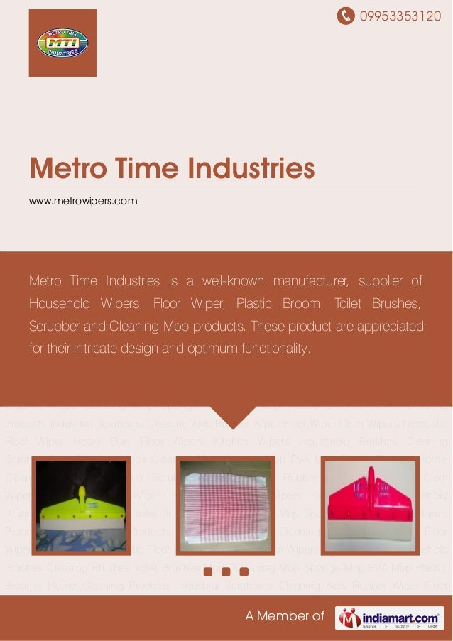 Floor Wiper By Metro Time Industries
