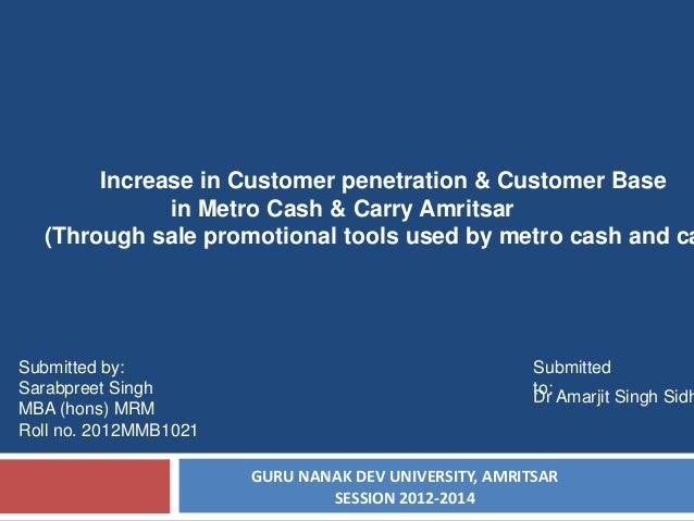 Metro cash n carry amritsar