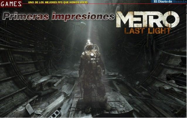 Fuente Review: LevelUp  GAMES  CIUDAD SERDÁN QUE HEMOS VISTO UNO DE LOS MEJORES FPS  Primeras impresiones  H  ace un par d...