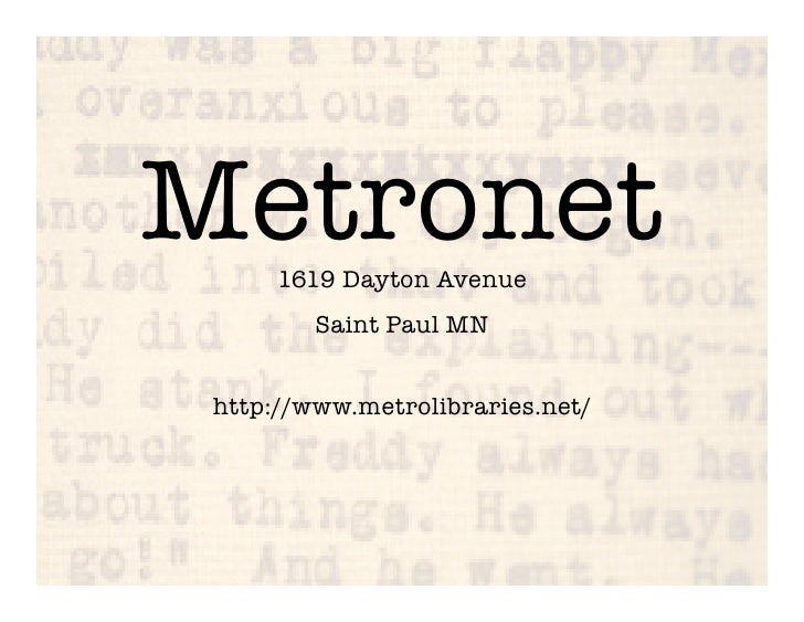 Metronet in 5 minutes 8 10.ppt
