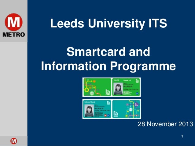 Smartcard and Information Programme (METRO)