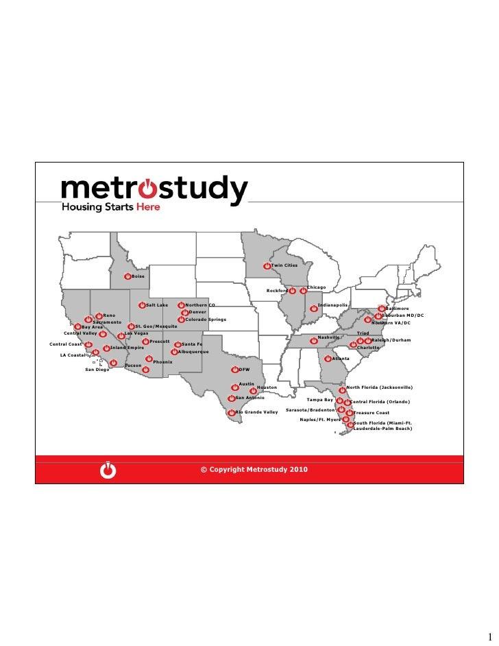 Metrostudy 2010 Housing Forecast For Distribution 1 13 10