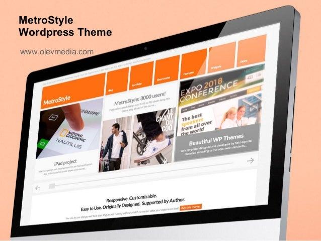 MetroStyleWordpress Themewww.olevmedia.com