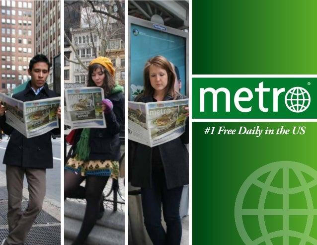 Metro US Media Kit 2013