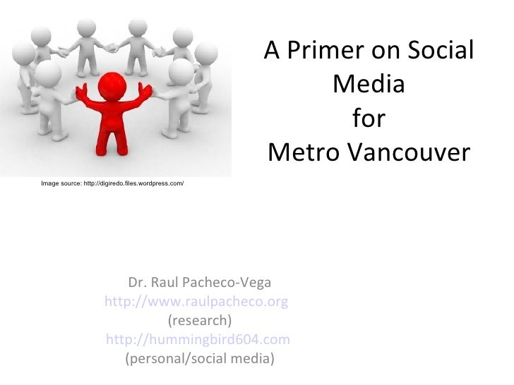 Why Metro Vancouver should be doing social media