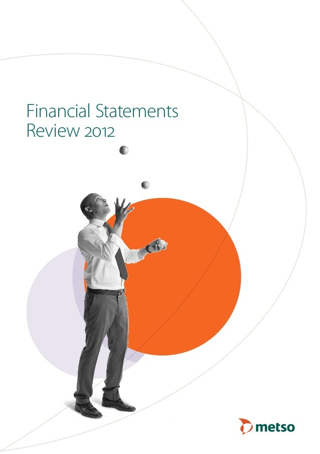 Metso Financial Statements Review 2012