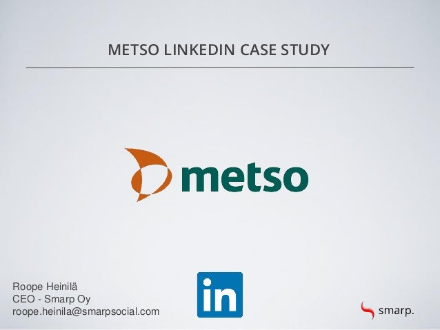 Metso LinkedIn Growth: Case Study