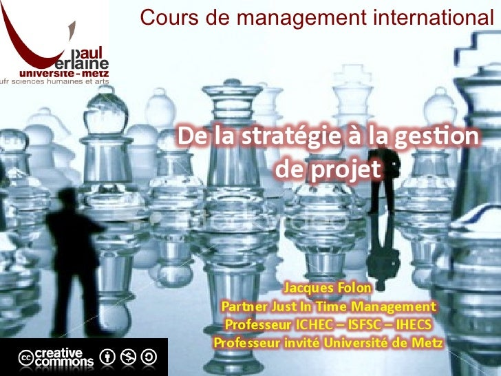 Cours de management international