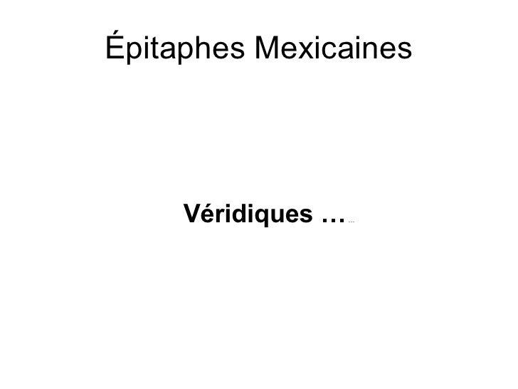 Mexicaanse grafopschriften