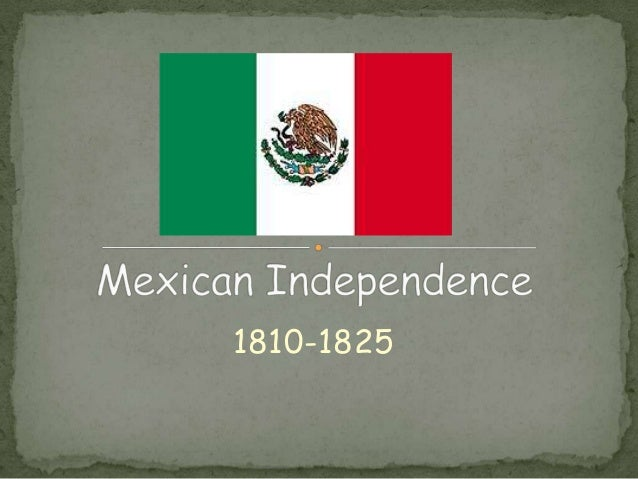 mexican independence from spain Since the early 1500's, mexico had been part of the viceroyalty of new spain, a  huge  castes in mexico banding together to fight for independence from spain.
