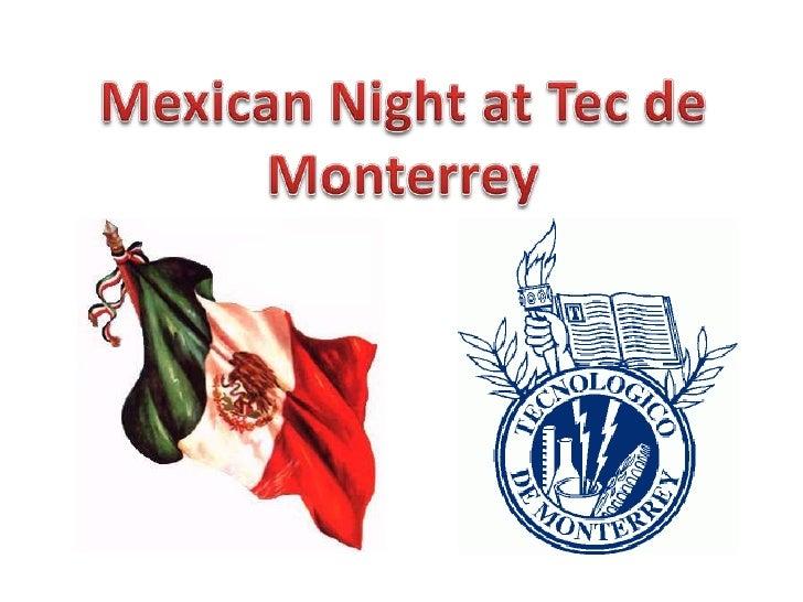 Mexican Night at Tec de Monterrey<br />