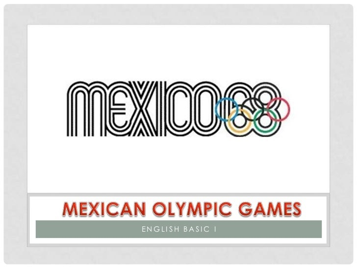 Mexican olympics