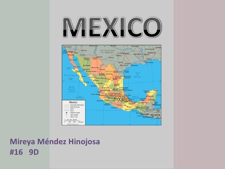MEXICO<br />Mireya Méndez Hinojosa<br />#16   9D<br />