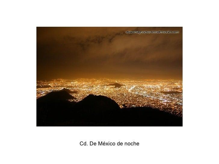 Cd. De México de noche