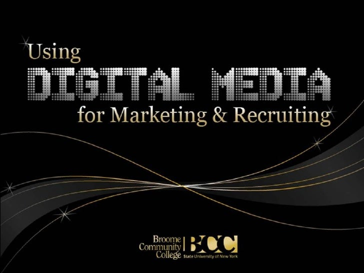 Using Online Media for Marketing and Recruiting