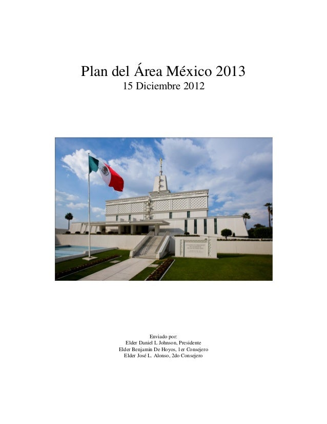 Mexico area plan 2013 spanish final