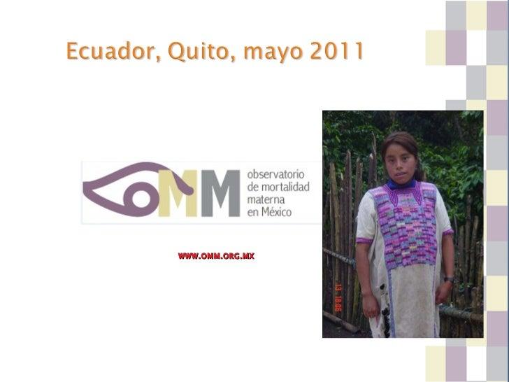 Mexico presentacion observatorio dra graciela freyermuth