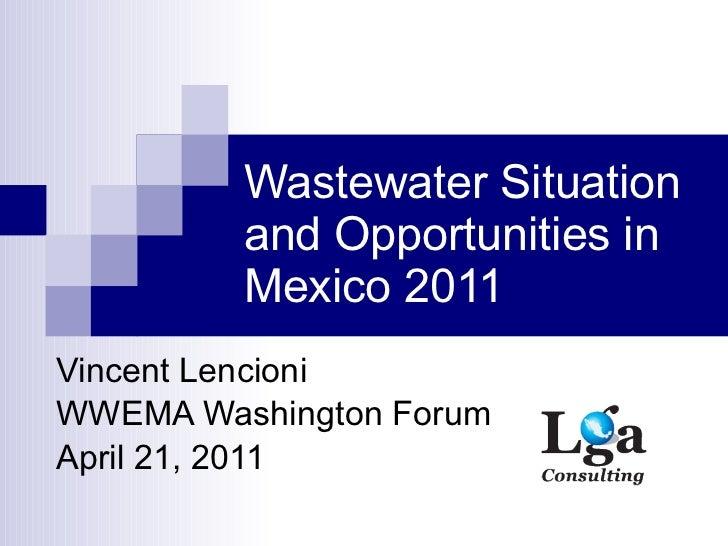 Mexico Presentation At WWEMA (April 21, 2011)