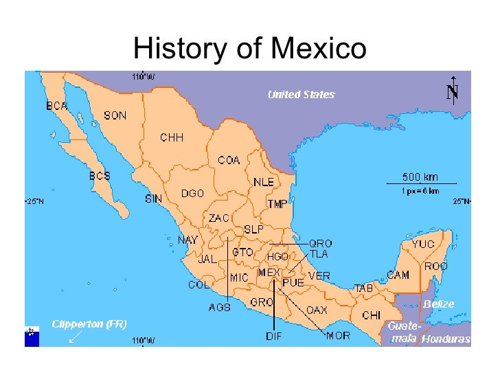 Mexico's History (brief)