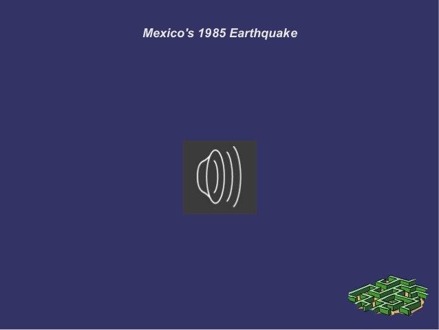 Mexicos 1985 earthquake