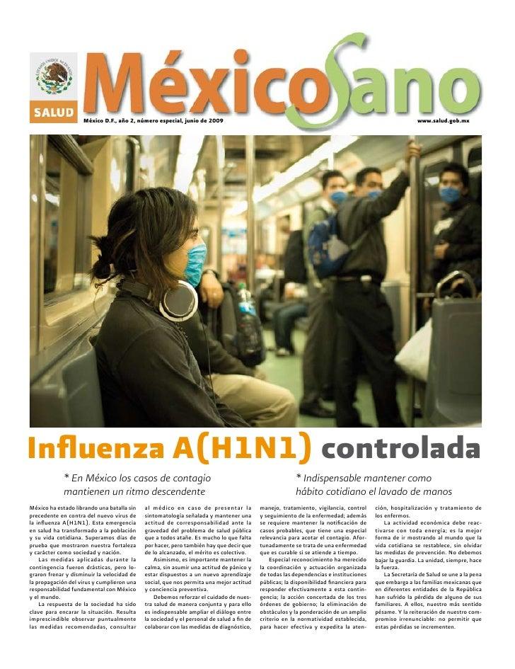 México D.F., año 2, número especial, junio de 2009                                                                        ...