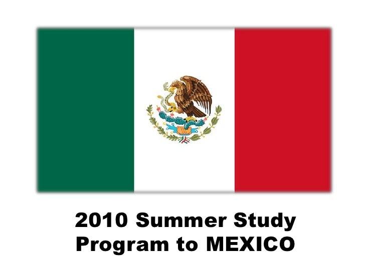Mexico Summer Study Program
