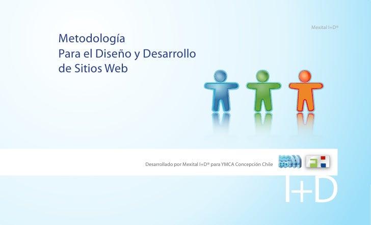 Mexital I+D®  Metodología Para el Diseño y Desarrollo de Sitios Web                      Desarrollado por Mexital I+D® par...