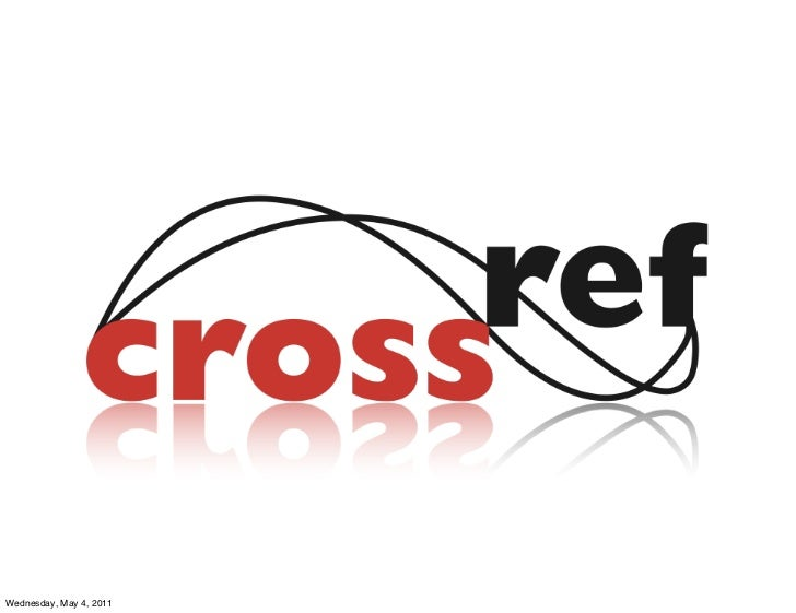 CrossRef For African Journals