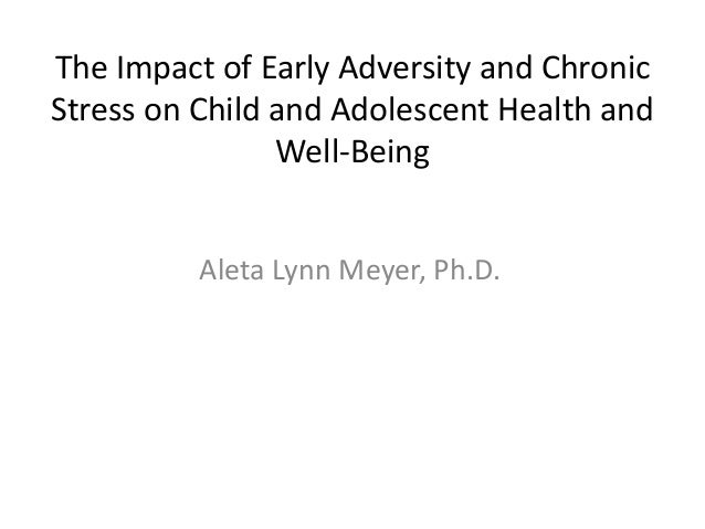 """Aleta Meyer - """"The Impact of Early Adversity & Chronic Stress on Youth Health & Well-Being"""""""