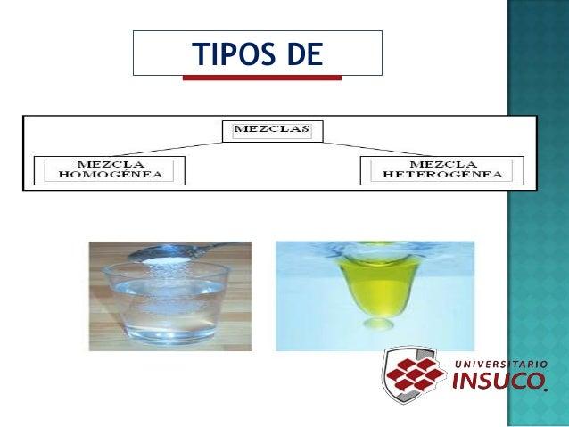 qu mica 1 primer parcial mezclas y tipos de mezclas
