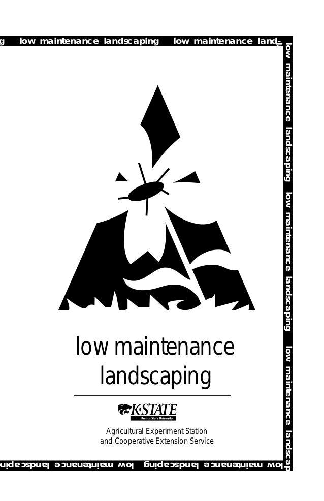 Low Maintenance Landscaping - Kansas State University