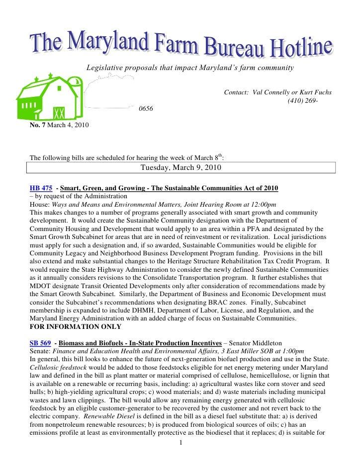 -304800914400                                Legislative proposals that impact Maryland's farm community<br />-3048004445<...