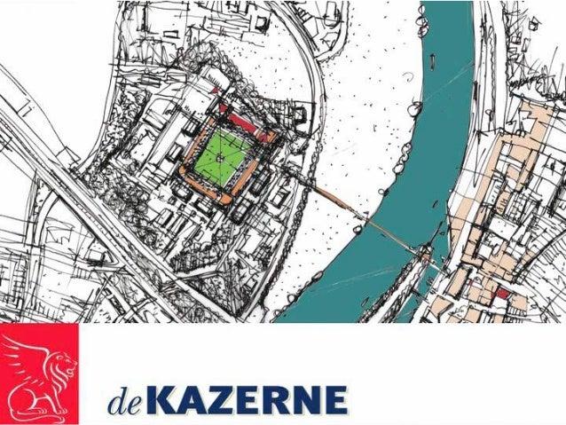 "Ondernemingsplan 2010 - 2014 Multi Functioneel Center ""deKazerne"" MFC ""deKazerne"" BV ""Fort St. Michiel"" Venrayseweg 59-63 ..."