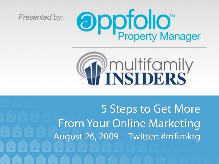 5 Steps to Get More from Your Online Marketing
