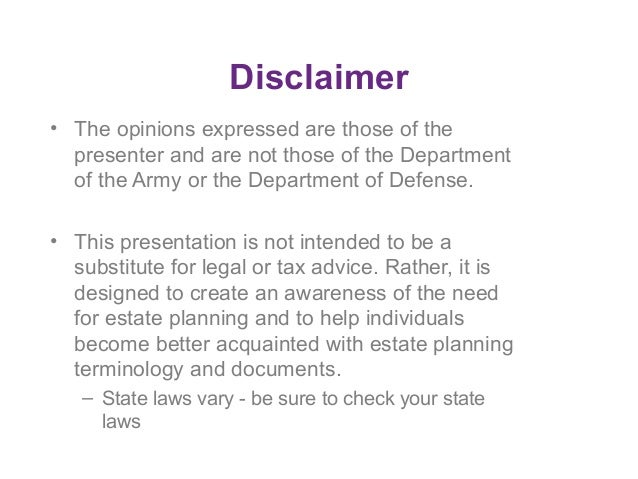 Sample Inheritance Disclaimer Form Pictures to Pin on Pinterest ...