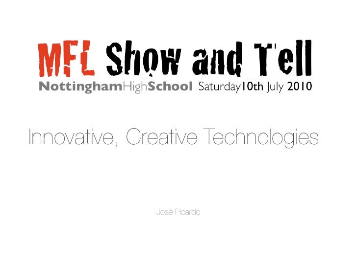 MFL Show and Tell