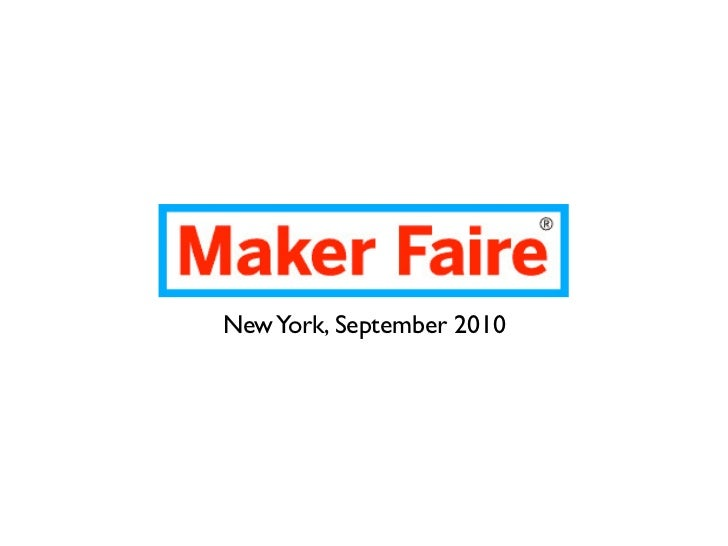 GROUND Lab at Maker Faire NY