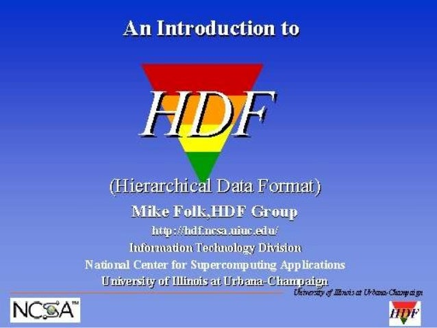 An Introduction to HDF (1997)