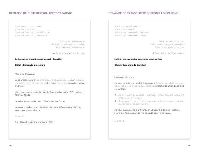 Modele lettre banque changement d 39 adresse for La poste changement adresse definitif