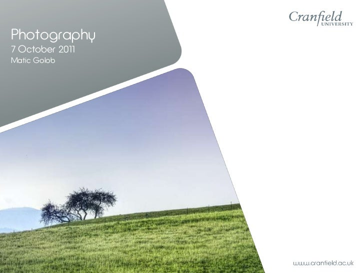 Photography - Basic Understanding