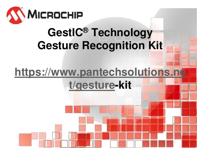 MG3130 gesture recognition kit