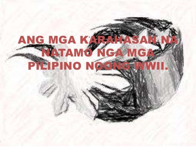 pagdating ng mga hapones