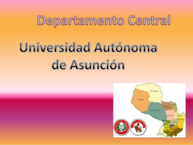  Presentación del Departamento Ubicación Geográfica Actividades Resaltantes Sitios TurísticosContactosAutor