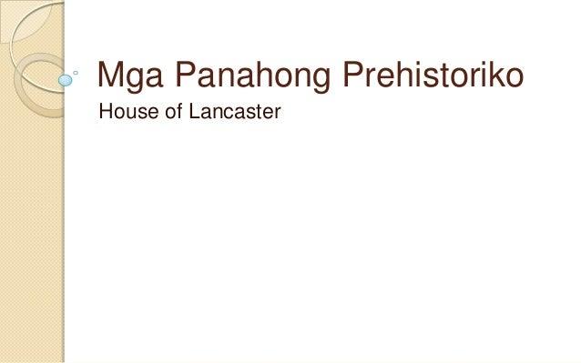 Mga panahong prehistoriko - reports - quarter 1 - 3rd year