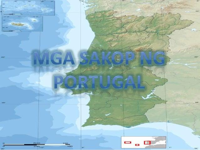Mga sakop ng portugal at spain