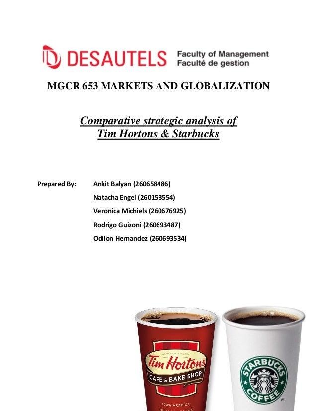 Starbucks a strategic report