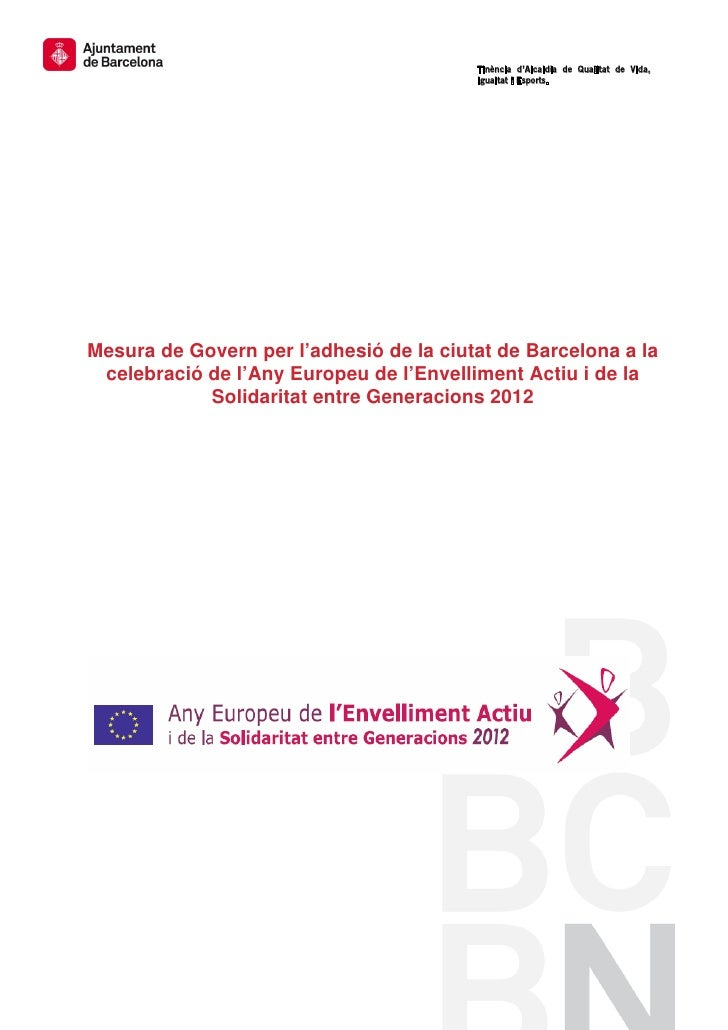 Any europeu Envelliment Actiu