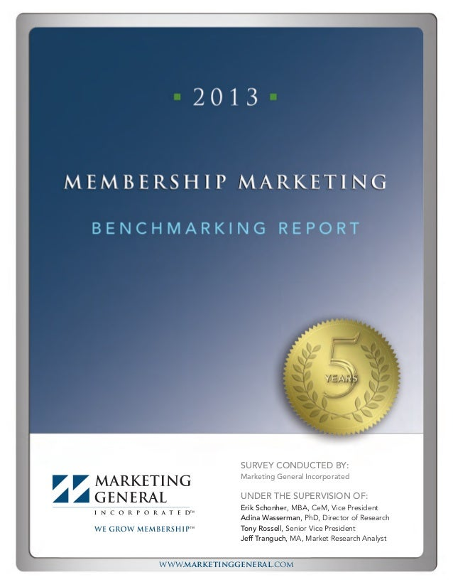www.marketinggeneral.com SURVEY CONDUCTED BY: Marketing General Incorporated UNDER THE SUPERVISION OF: Erik Schonher, MBA,...