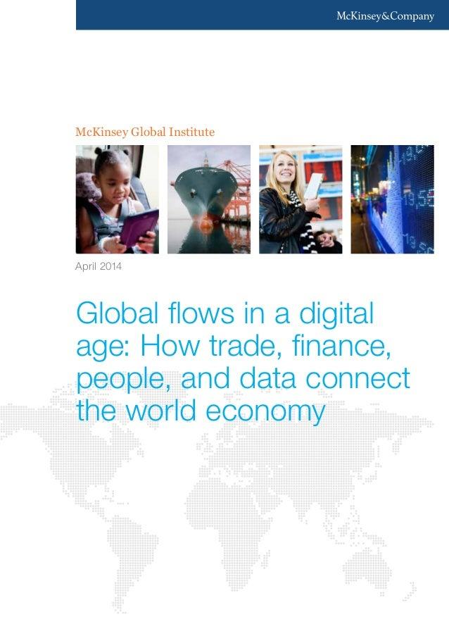 (McKinsey) Global flows in a digital age