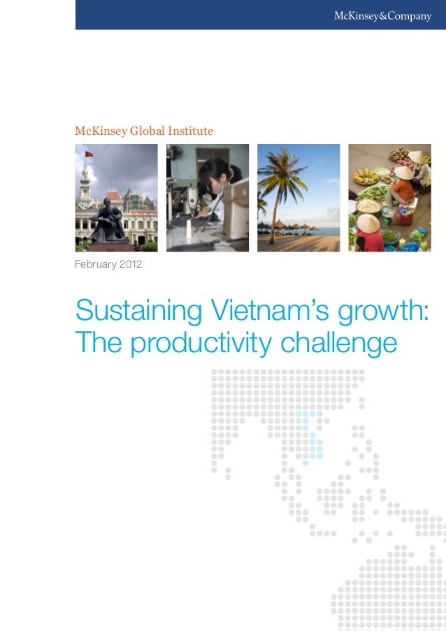 McKinsey Global Institute  February 2012  Sustaining Vietnam's growth: The productivity challenge